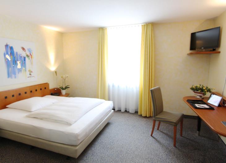 Standard Doppelzimmer (DZ) Raumansicht