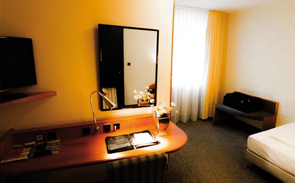 Standard Einzelzimmer EZ Raumansicht